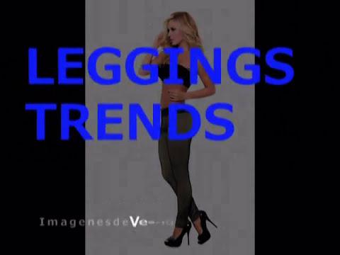 Leggings Jeans Leather Cuero Colección Tendencia pantalón elastizado