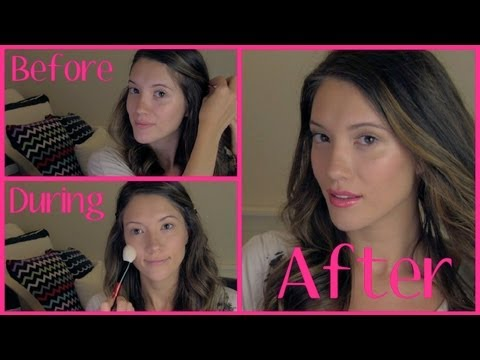 My Everyday Summer Makeup Routine! ♡ Afternoons in June ♡