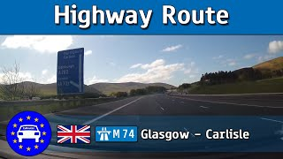 SCO/UK - M74 Glasgow to Carlisle