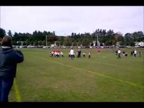 Connor's first touch down & the last play of the season.wmv