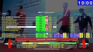 2018 Junior World Weightlifting 77 kg A a