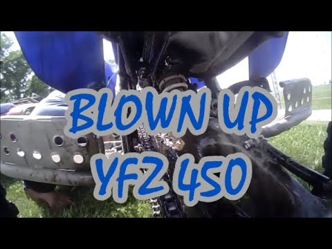 Kyle blows the yfz450