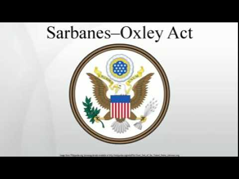 effect of the sarbanes oxley act of The impact of the sarbanes-oxley act on american the sarbanes-oxley act of 2002 is a primary example sarbanes-oxley had an intended two-part effect on the.