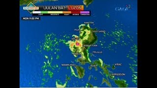 24 Oras: Weather update as of 6:27 p.m. (July 9, 2017)