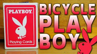 Deck Review - Bicycle PlayBoy Playing Cards [HD] 15+