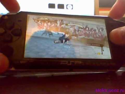 Обзор игры B boy на PSP 3008 как играть в b-boy на psp игры на psp 3008 тор