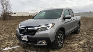 2017 Honda Ridgeline Touring - Review
