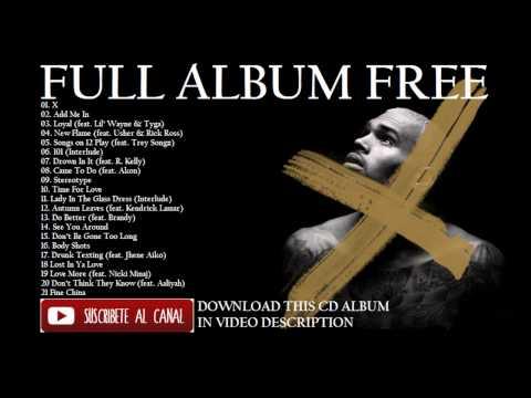 Chris Brown - X (Download) (Album) (Disco) 2014