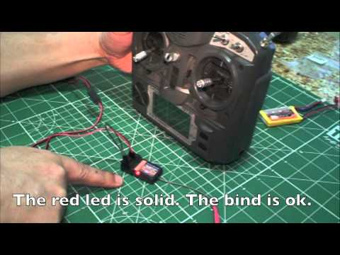 RC Bind Turnigy 9X V2 with HK TR6A V2 6Ch 2.4GHz rx (with original soundtrack)