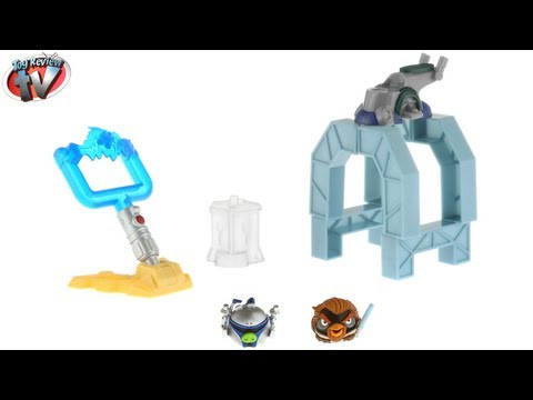 Angry Birds Star Wars Telepods Bounty Hunters Toy Review. Hasbro mp4
