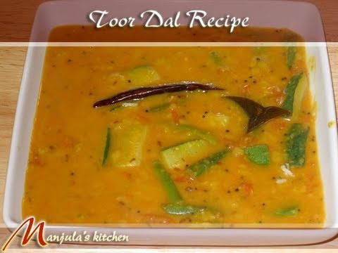 Toor Dal by Manjula, Indian Vegetarian Cooking