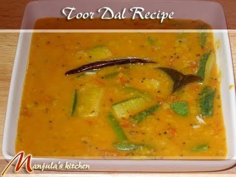 Toor Dal by Manjula, Indian Vegetarian Cooking