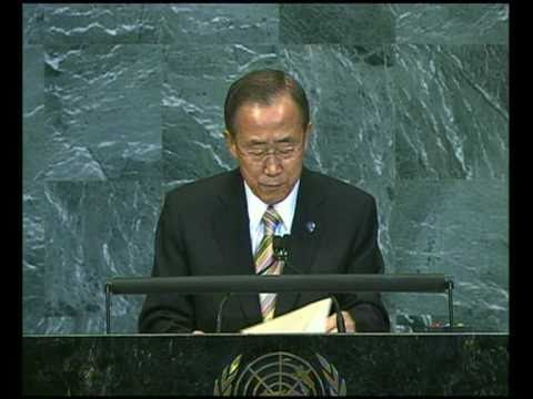 MaximsNewsNetwork: U.N. SECRETARY-GENERAL BAN KI-MOON: