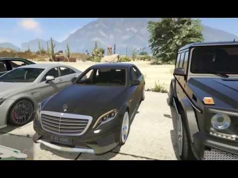 GTA V MERCEDES ////AMG COLLECTION MODS