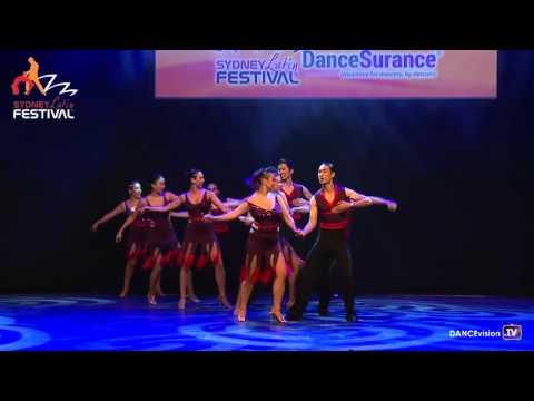 2016 Sydney Latin Festival.  Dance Mambo.  Amateur Comp Team