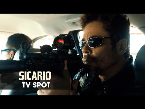 Rub�n Blades - Sicario (2015 Movie - Emily Blunt) Official TV Spot ? ?Weapon?