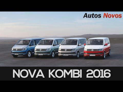 Nova Kombi 2016 primeiras fotos