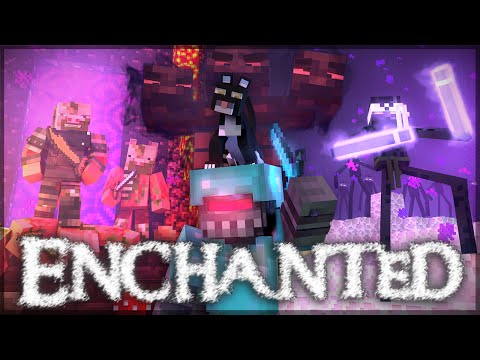 enchanted - A Minecraft Music Video (parody) video