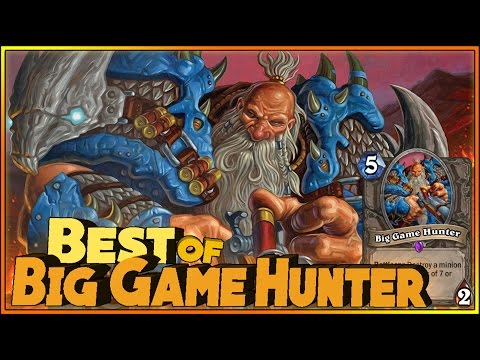 Hearthstone Best of Big Game Hunter - Funny and lucky Rng Moments