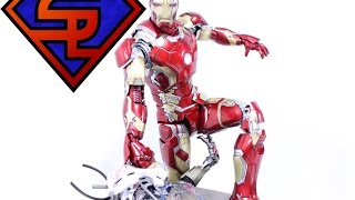 Avengers Age Of Ultron Hot Toys Mark XLIII Iron Man 1/6 Scale Diecast Movie Figure Review
