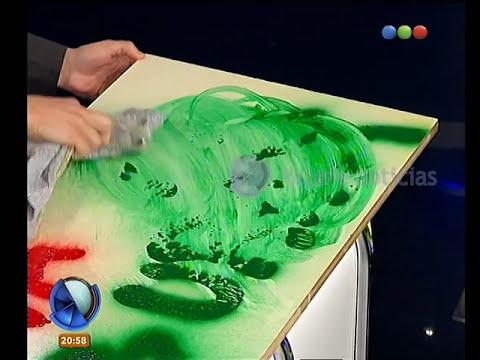 Cómo borrar grafitis - Telefe Noticias