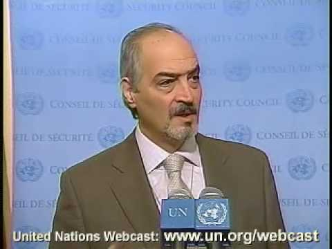 MaximsNewsNetwork: SYRIA Amb. BASHAR JA