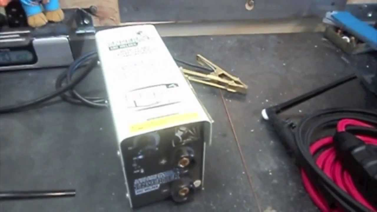Converting Harbor Freight Stick Welder To Dc Tig
