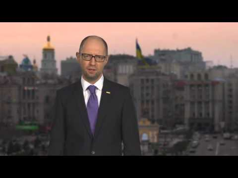 NÓNG: THỦ TƯỚNG UKRAINA ARSENY YATSENYUK TỪ CHỨC