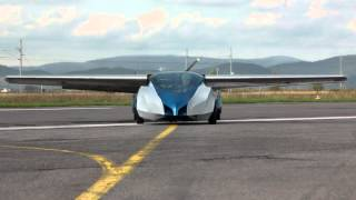 Aeromobil - flying car prototype