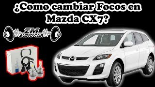 Cambio de Focos de Led Mazda CX7 |ZM AUDIO CAR|