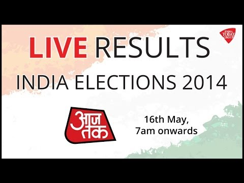 AajTak LIVE : Election 2014 Results