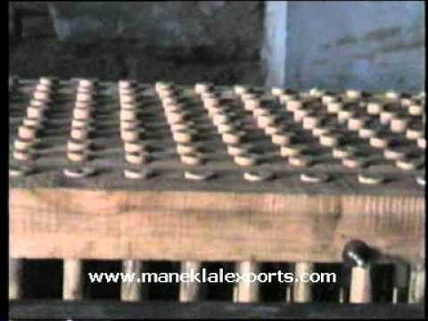 Manek - Wax Candle Making Machine - Plain Cylindrical Type