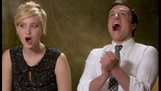 Jennifer Lawrence & Josh Hutcherson talk about Pranking