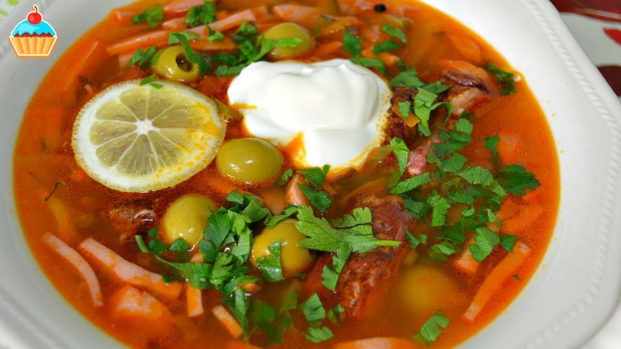 Солянка сборная мясная классическая рецепт с фото пошаговый с капустой
