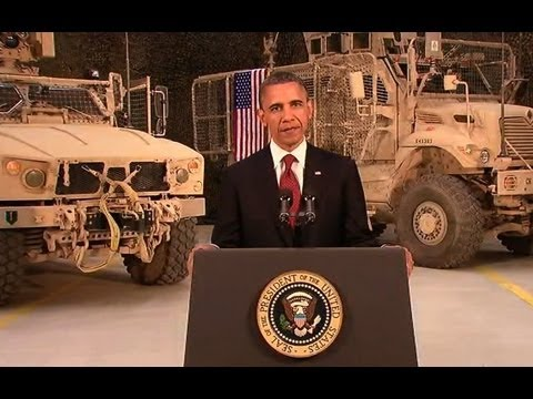 President Obama Speaks on Ending the War in Afghanistan