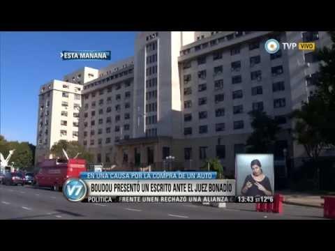 Visión 7 - Boudou presentó un escrito ante el juez Bonadío, que investiga la compra de un auto