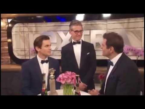 Matt Bomer's Interview after receiving Golden Globe Award