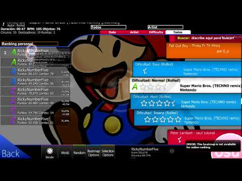 OSU! Juego Gratuito Musica + Link de Descarga en Descripcion