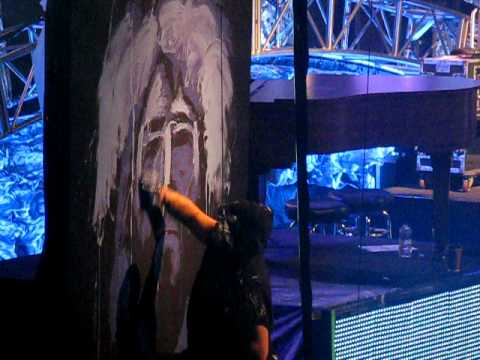 Jesus, Friend Of Sinner By Casting Crowns (live With Painting.) video