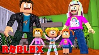 Happy Roblox Family   Adopting Baby Kira   Bloxburg Roleplay