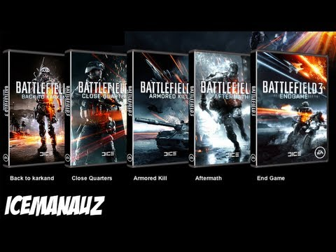 What Is Your Favorite BF3 DLC? (Battlefield 3 Gameplay/Commentary)