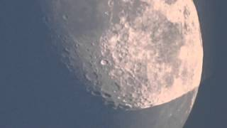 sony hx 400v zoom test moon and plane!