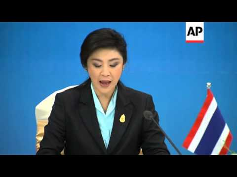 Thai PM Yingluck Shinawatra visits Vietnam