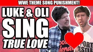 WWE Theme Songs PUNISHMENT! Mike & Maria Kanellis - True Love (Oli & Luke) | WrestleTalk