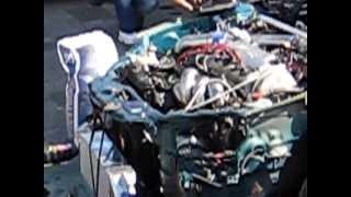 Honda CRX Del Sol turbo charged 1st start