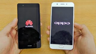 Oppo F1S vs Huawei P9 Lite - Speed Test! (4K)