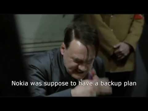 Hitler's reaction when Microsoft bought Nokia