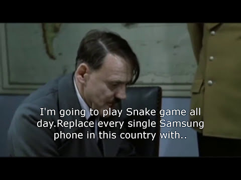 Hitler's reaction when Microsoft bought Nokia