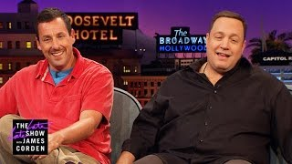 Kevin James & Adam Sandler: Loving, but Uncool Dads