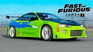 Forza 7 - Fast and Furious !! Garage